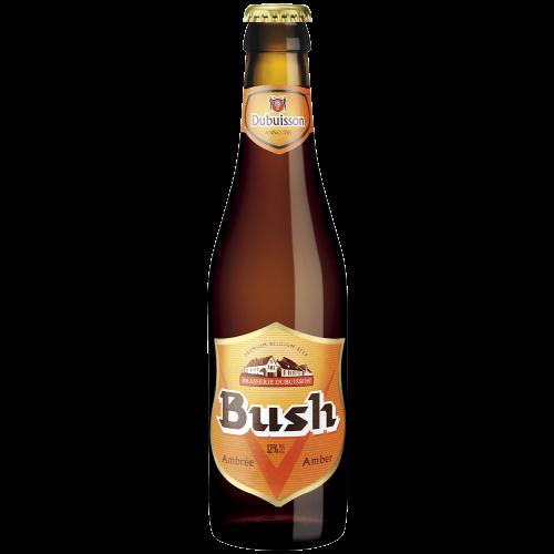 Bouteille de bière BUSH AMBREE 12 °