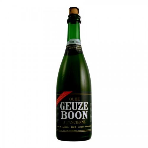 Bouteille de bière Boon Oud Gueuze 6,5° 75CL