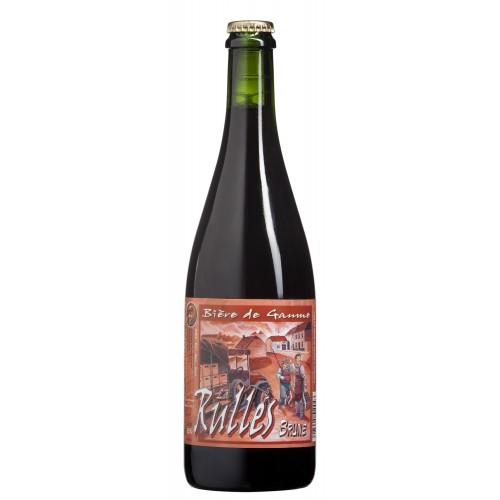 Bouteille de bière RULLES BRUNE 6,5 °