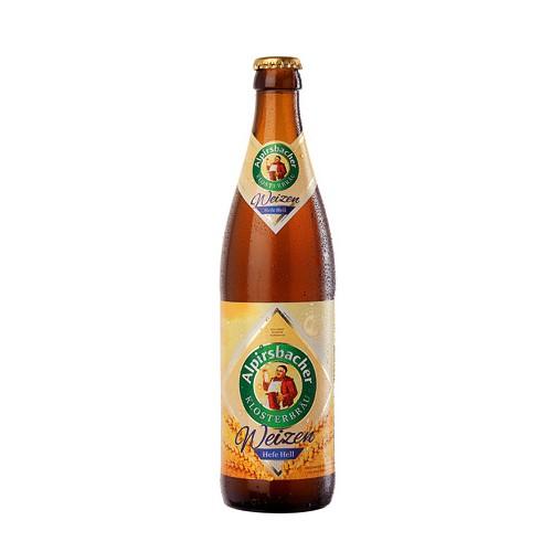 Bouteille de bière ALPIRSBACHER HEFE HELL 50cl 5.2°