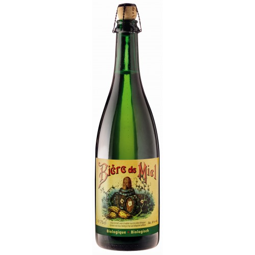 Bouteille de bière BIERE DE MIEL BIO 75CL 8°