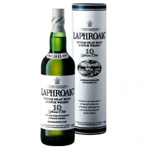 Bouteille de whisky Laphroaig 10 ans