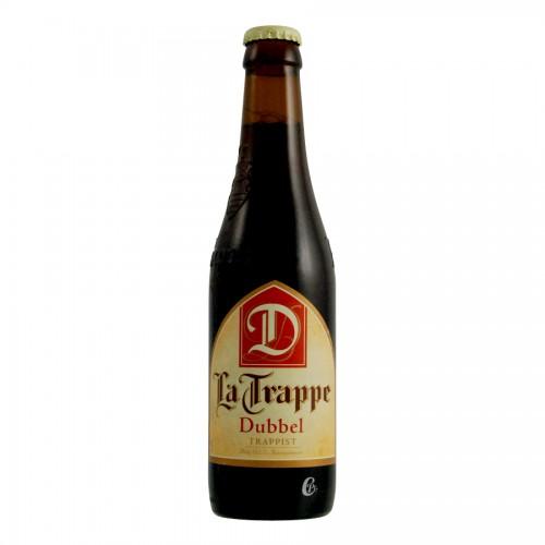 Bouteille de bière La Trappe Double 7°