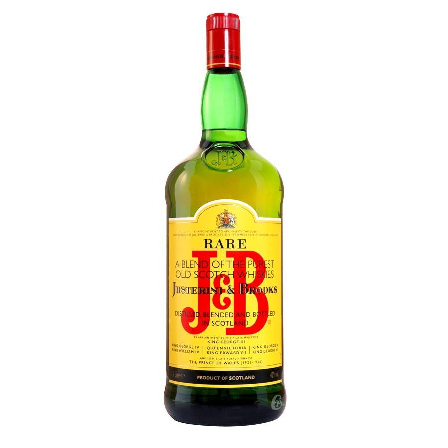 bouteille de whisky j b 40 3 litres j roboam boutique. Black Bedroom Furniture Sets. Home Design Ideas