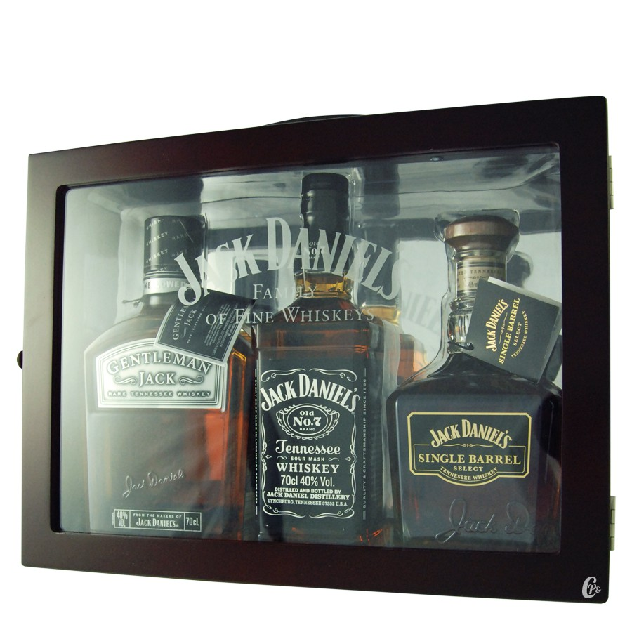 coffret jack daniel 39 s mallette family of fine whiskey 41 67 boutique. Black Bedroom Furniture Sets. Home Design Ideas