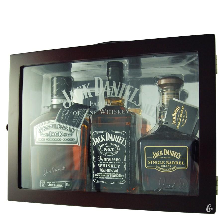 coffret jack daniel 39 s mallette family of fine whiskey 41 67 boutique. Black Bedroom Furniture Sets. Home Design Ideas
