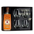 Terres de Whisky : Four Roses Single Barrel et ses 4 verres de dégustation