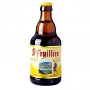 Bouteille de bière d'Abbaye St Feuillien blonde 7.5°