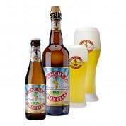 Bouteille de bière Blanche de Bruxelles4,5°