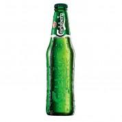 Bouteille de bière Carlsberg