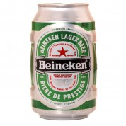 Bouteille de bière Boite Heineken
