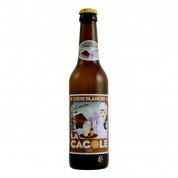 Bouteille de bière LA CAGOLE BLANCHE VP33CL 5.0°