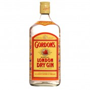 Bouteille de gin Gordon s 70cl 37.5°