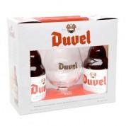 Bouteille de bière Coffret Duvel 2 bt 1verre x01 Coffrets vendu Par 12