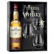 Coffret Terres de Whisky The Glenlivet 15 Ans