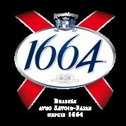Bouteille de bière 1664 VP75cl