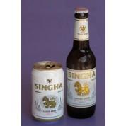 Bouteille de bière Singha 5°