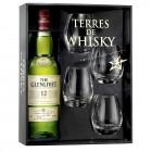 Coffret Terres de Whisky The Glenlivet 12 Ans 70cl et 4 verres de dégustation
