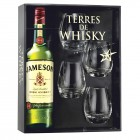 Terres de Whisky Jameson Irish Whiskey 70 cl + 4 verres